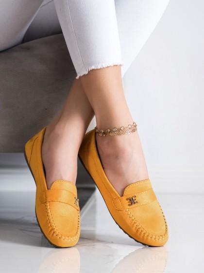 71548 - Fama mokasinke rumena/zlata barva