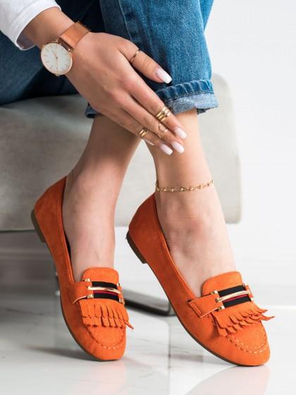 71687 - Anesia paris mokasinke oranzna barva