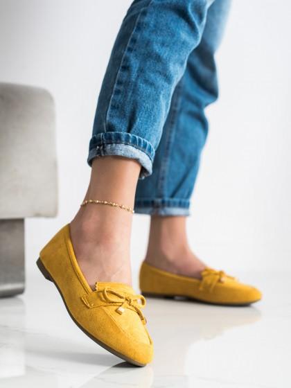 71707 - Anesia paris mokasinke rumena/zlata barva