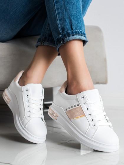71824 - Shelovet superge, nizki čevlji bela barva