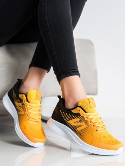 71836 - Shelovet superge, nizki čevlji rumena/zlata barva