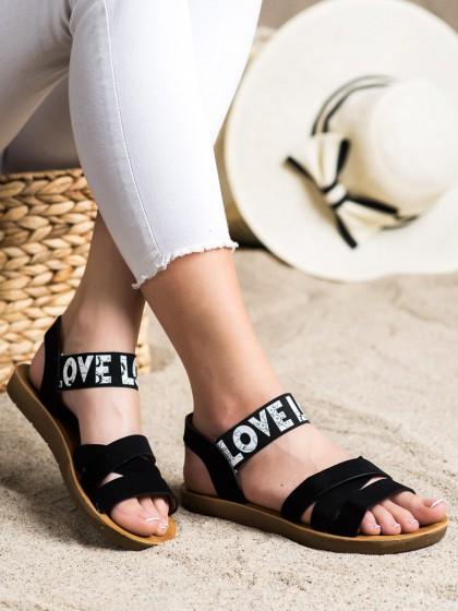 71941 - Shelovet sandali crna barva