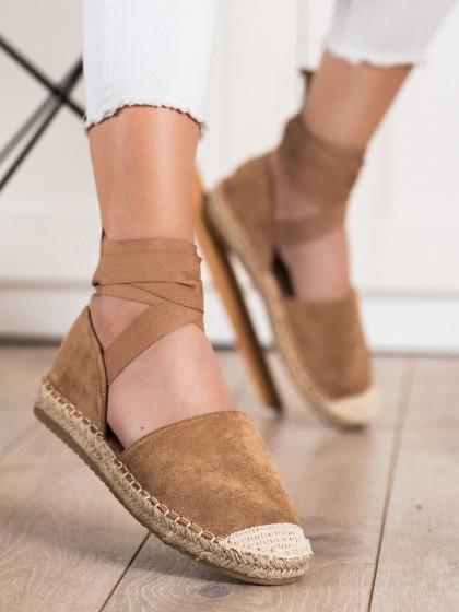 71964 - Shelovet nizki elegantni čevlji rjava/bez barva