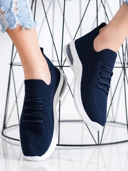 71996 - Diamantique superge, nizki čevlji modra barva