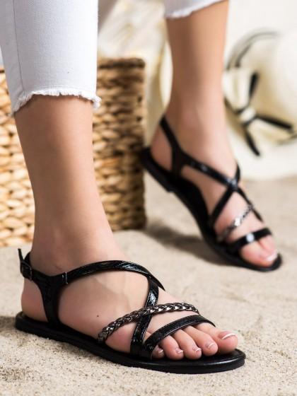 72100 - Vinceza sandali crna barva