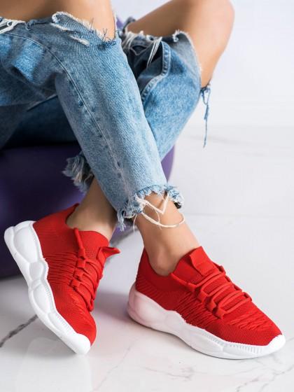 72132 - Shelovet superge, nizki čevlji rdeca barva