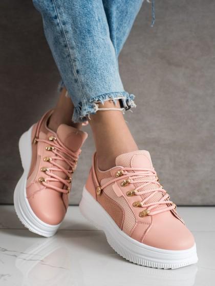 72149 - Shelovet superge, nizki čevlji roza barva