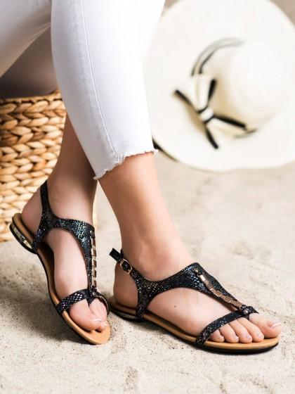 72158 - Vinceza sandali crna barva