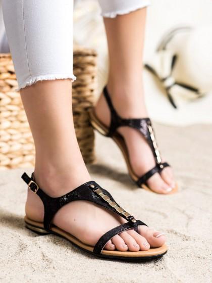 72159 - Vinceza sandali crna barva