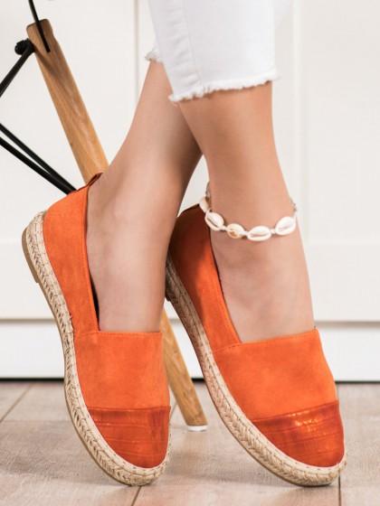 72268 - Bestelle nizki elegantni čevlji oranzna barva