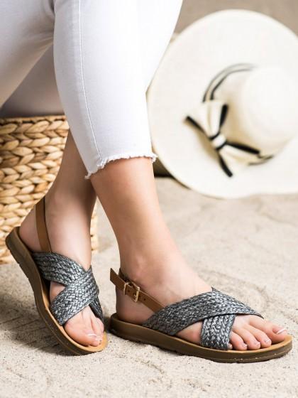 72274 - Shelovet sandali crna barva