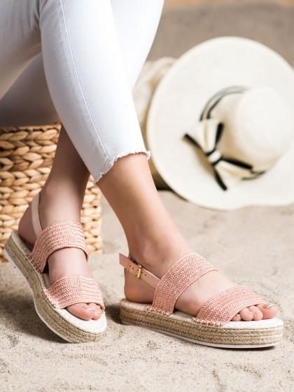 72286 - Shelovet sandali roza barva