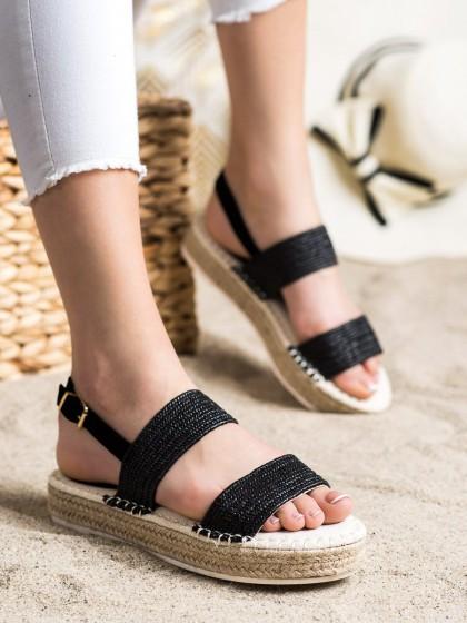 72287 - Shelovet sandali crna barva