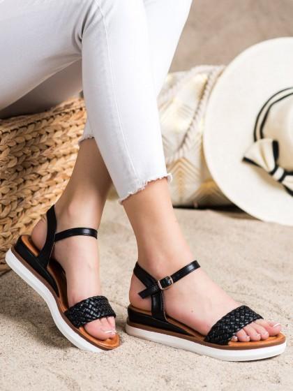72314 - Shelovet sandali crna barva