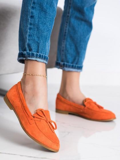72340 - Coura mokasinke oranzna barva