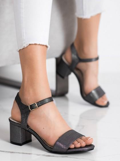 72372 - Goodin sandali siva/srebrna barva