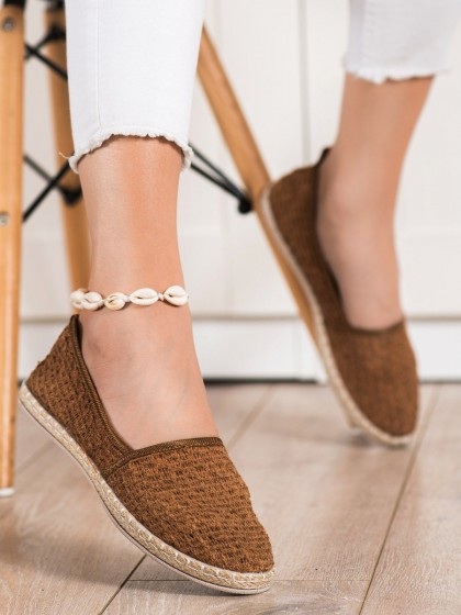 72394 - Balada nizki elegantni čevlji rjava/bez barva