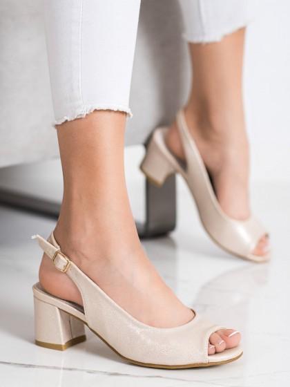 72407 - Goodin sandali rumena/zlata barva