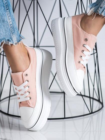 72473 - Seastar superge, nizki čevlji roza barva