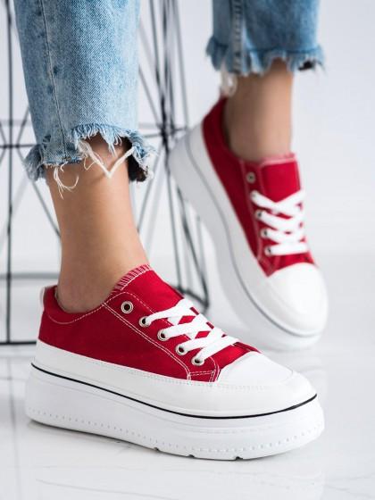 72474 - Seastar superge, nizki čevlji rdeca barva