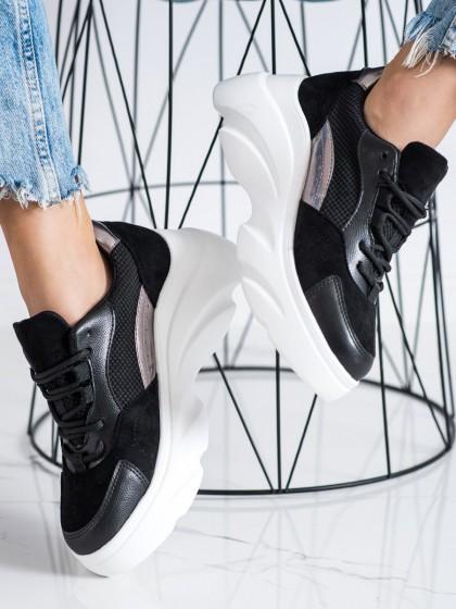 72483 - Seastar superge, nizki čevlji crna barva