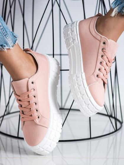 72507 - Goodin superge, nizki čevlji roza barva
