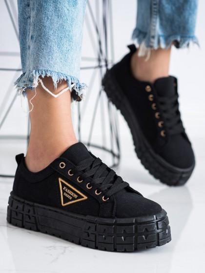 72508 - Goodin superge, nizki čevlji crna barva