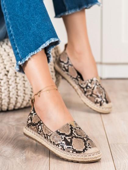 72550 - Queen vivi nizki elegantni čevlji zivalski motiv barva