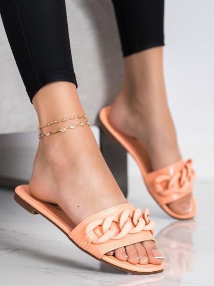 72566 - Ideal shoes natilanatikači oranzna barva