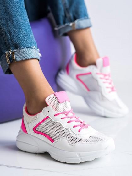 72661 - Shelovet superge, nizki čevlji bela barva