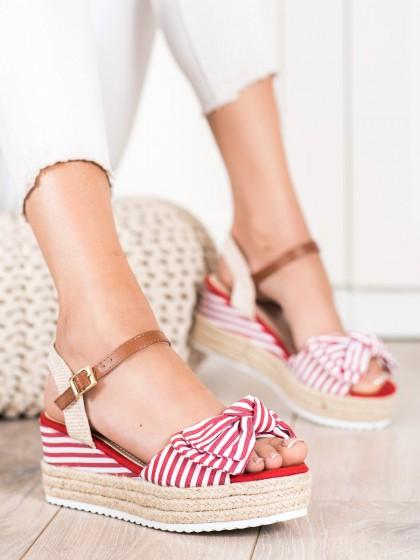 73009 - Sweet shoes sandali rdeca barva