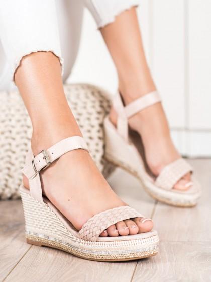 73082 - Trendi sandali rjava/bez barva