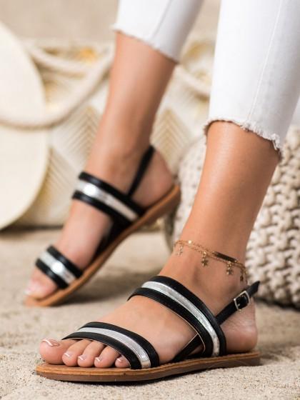 73205 - Cm paris sandali crna barva