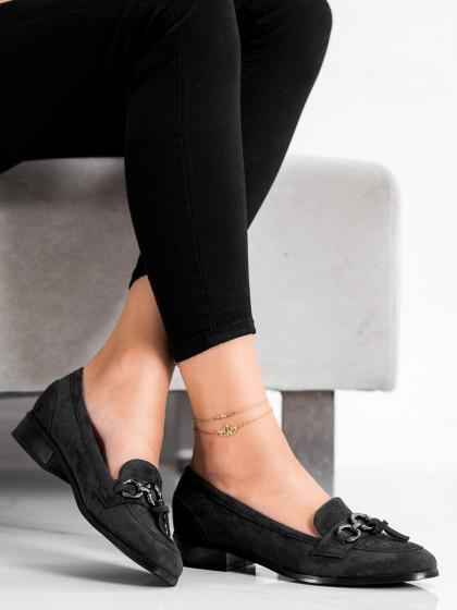 73251 - Vinceza mokasinke crna barva
