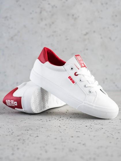 73293 - Big star superge, nizki čevlji bela barva