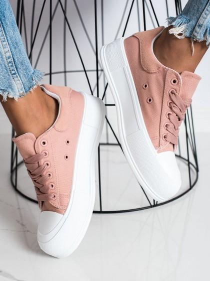 73369 - Goodin superge, nizki čevlji roza barva