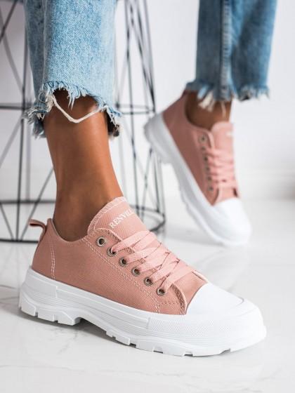 73395 - Goodin superge, nizki čevlji roza barva