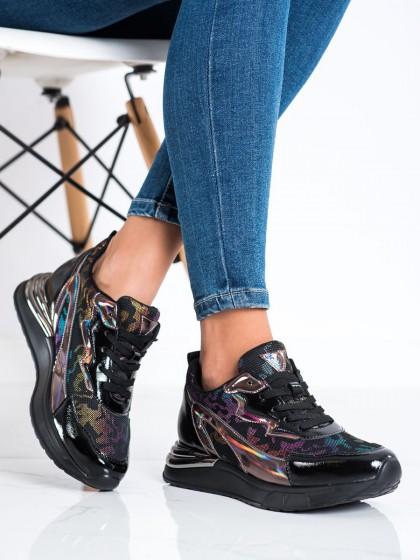 73419 - Vinceza superge, nizki čevlji crna barva