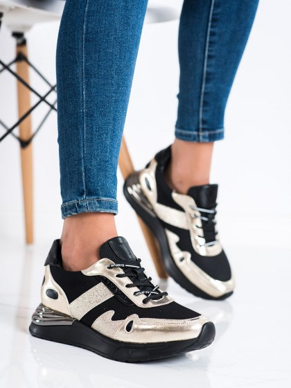 73425 - Vinceza superge, nizki čevlji crna barva