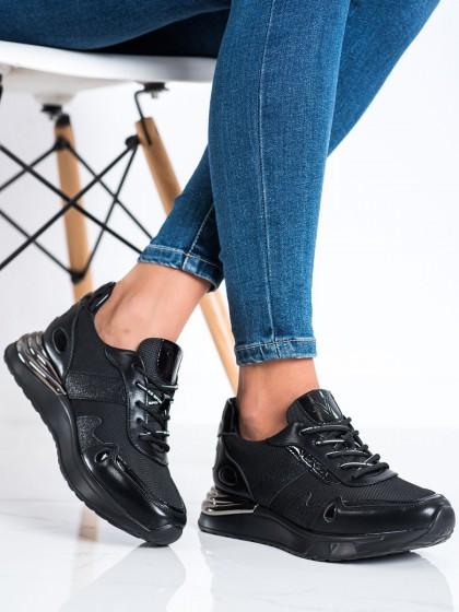 73426 - Vinceza superge, nizki čevlji crna barva