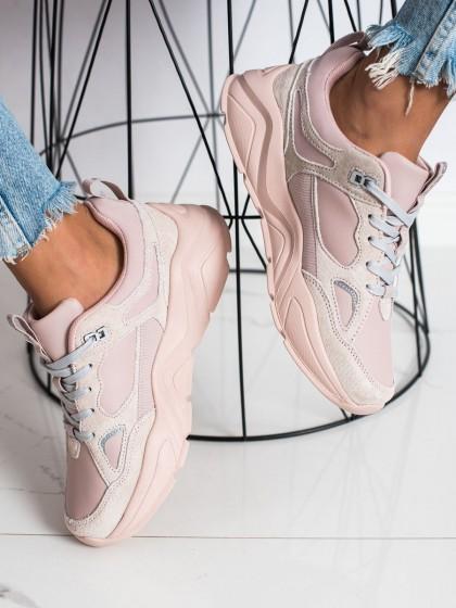73430 - Big star superge, nizki čevlji roza barva