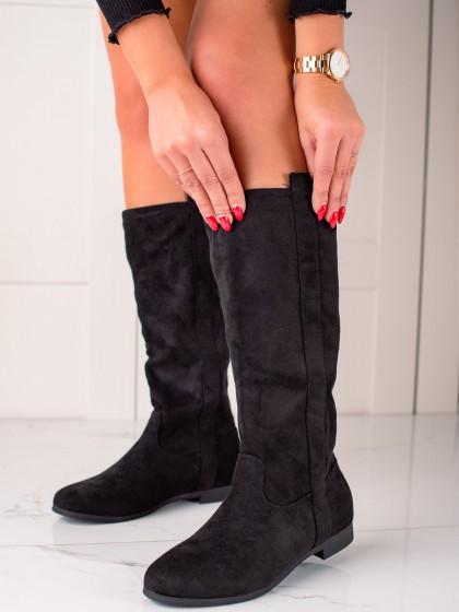 73555 - Seastar visoki škornji crna barva