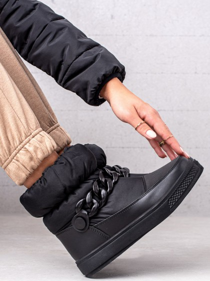 73928 - S. barski sneg škornji crna barva