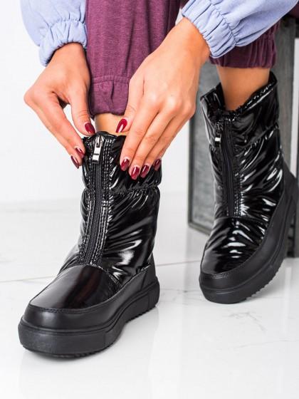 73954 - S. barski sneg škornji crna barva