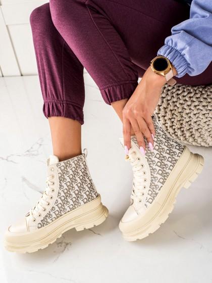 74065 - Trendi superge, nizki čevlji rjava/bez barva