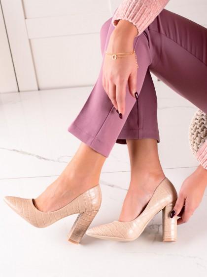 74294 - Sweet shoes salonarji rjava/bez barva