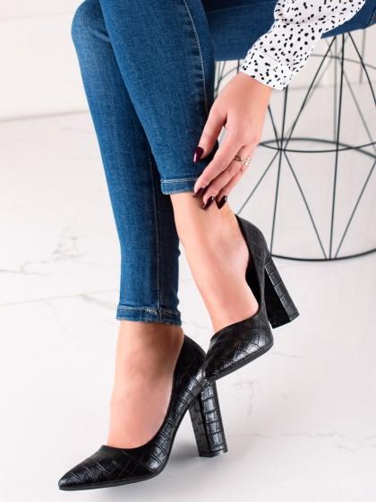 74299 - Sweet shoes salonarji crna barva