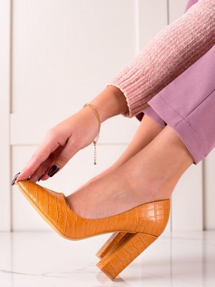 74310 - Sweet shoes salonarji rumena/zlata barva