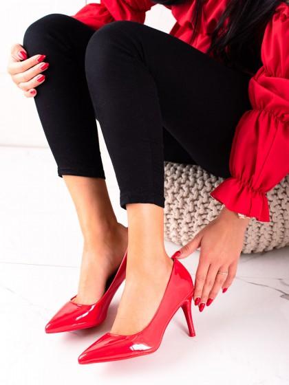 74431 - Best shoes salonarji rdeca barva