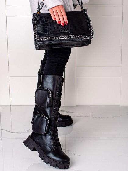74523 - Best shoes gležnarji, piščančki crna barva